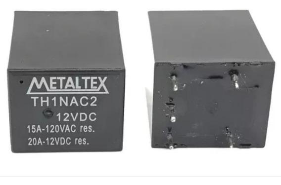 Relé Miniatura 12vdc Th1nac2 15a 120vac/20a 12vdc Kit C/10un