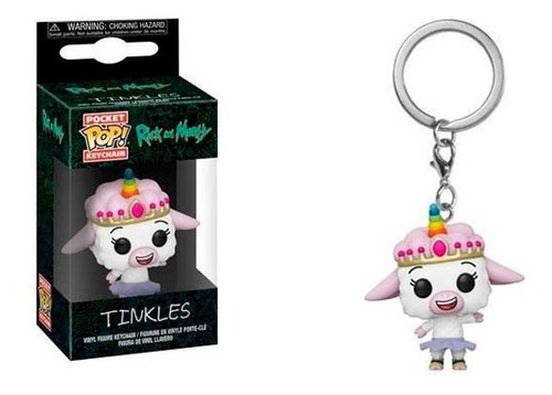 Funko Pop Keychain Rick And Morty Tinkles Nuevo Vdgmrs
