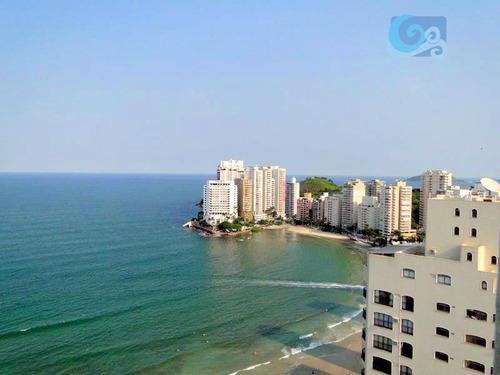 Imagem 1 de 30 de Cobertura À Venda, Praia Das Astúrias -  Guarujá - Co0224