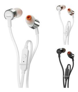 Fone De Ouvido Com Microfone Jbl T210 Graves Potentes iPhone