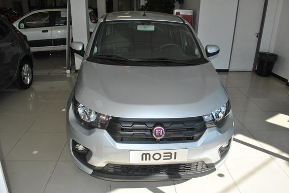 Fiat Mobi 1.0 2018 Gris 5 Puertas