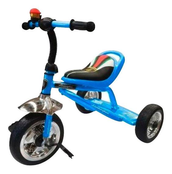 Triciclo Infantil Caño Reforzado Lamborghini Llanta Cromada