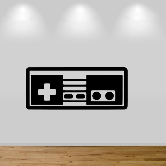 Adesivo De Parede - Controle Console Clássico Antigo Vintage
