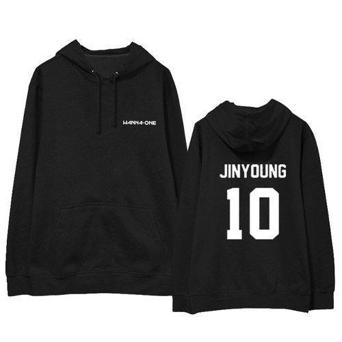 Moletom Blusa Casaco K-pop Wanna One Jinyoung 10