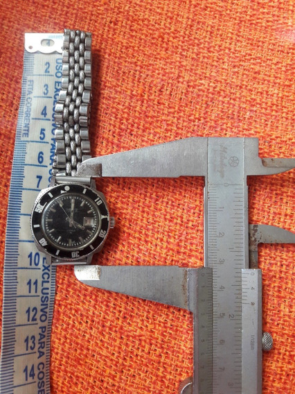 Relógio Antigo Seiko Quadrado 2517-3260 Automático Leia Desc