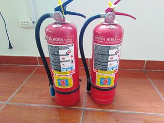 Extintor De 4 Kg Con Su Precinto De Seguridad