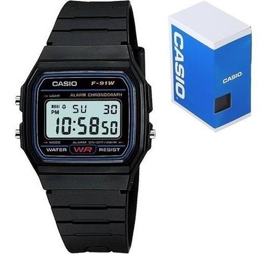 Reloj Casio Clasico F91 Vintage Original Envío Incluído!!!