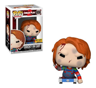 Funko Pop! Chucky On Cart #658 (hot Topic)