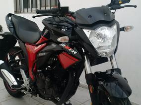 Suzuki Gixxer 150cc Negra Y Rojo