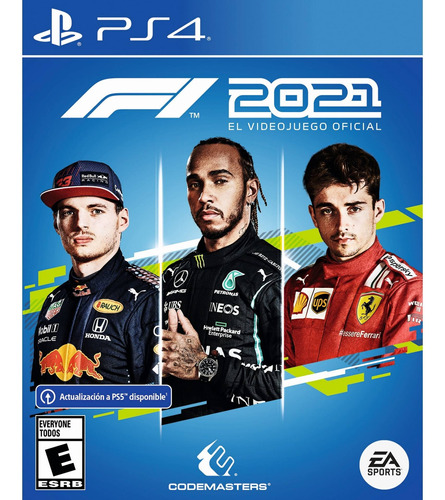 Imagen 1 de 10 de F1 2021 Formato Físico Ps4 Original Formula 1