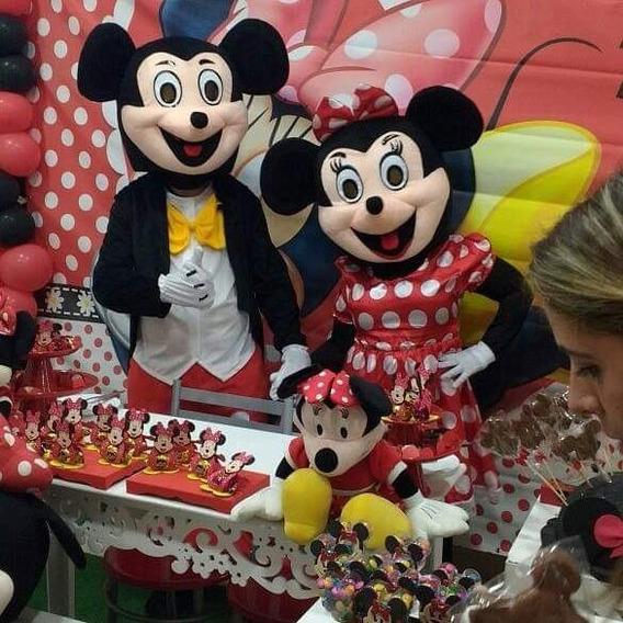 Personagem Vivo Minions Mickey Minnie Galinha Pintadinha