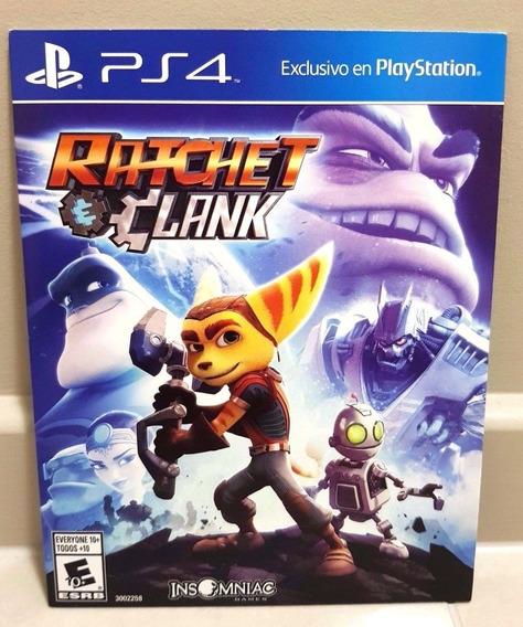 Ratchet Clank Ps4 Mídia Física Dublado Cartela Original