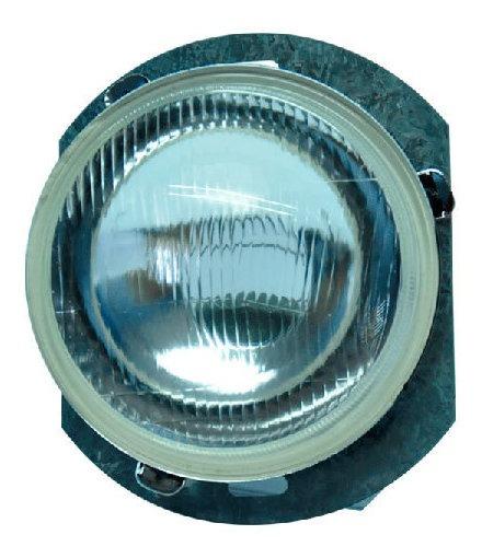 Optica Metalpar 5 3/4 Pulgadas Con Reten Vidrio Plano Baja