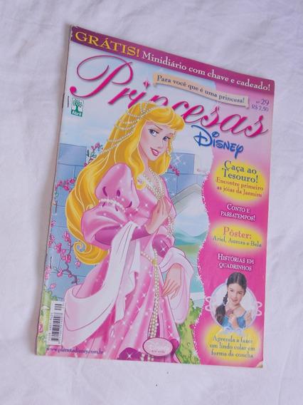 Revista Princesas Disney Nº 29 Caça Ao Tesouro