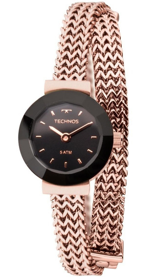Relógio Feminino Technos 5y20ir/4p 22mm Aço Rose