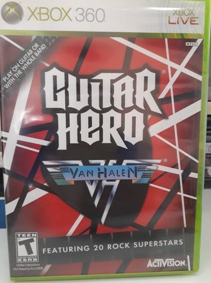 Guitar Hero Van Halen Fisica Xbox 360 - Lacrado