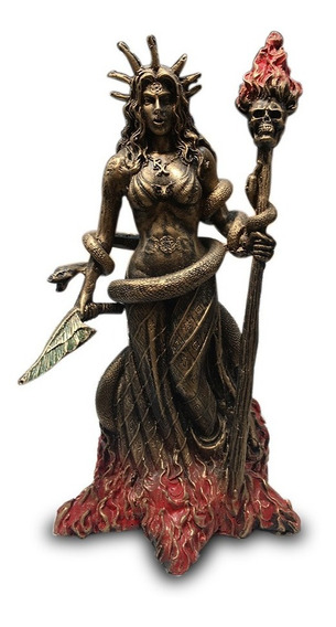 Imagem Deusa Nórdica Freya Freyja Estátua Em Resina 25cm