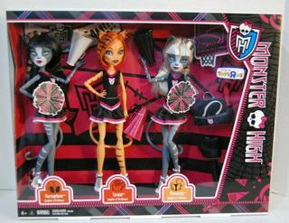 Monster High Werecat Fear Squad Toralei Meowlody Purrsephon