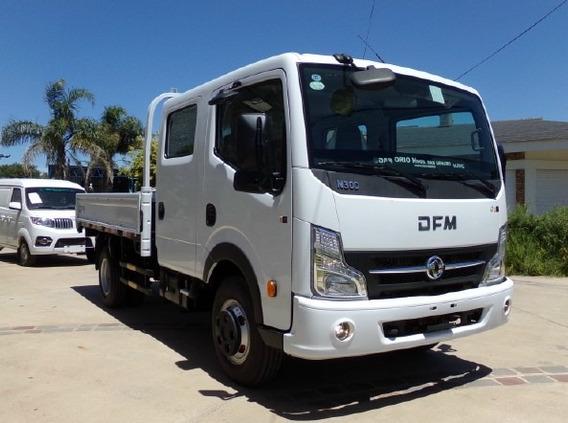 Dfm T01 D/cabina Nissan 140hp 0km 2018 P/6 Pas.+4ton.