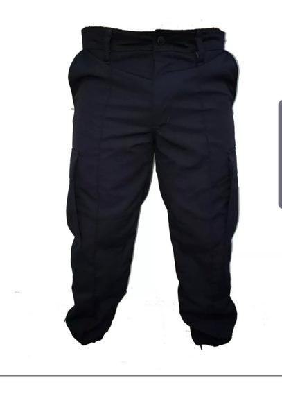 Pantalon, Bombacha, Antidesgarro, Ripstop, Azul, Policia