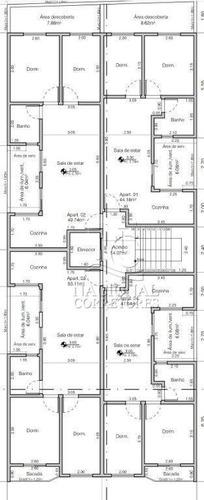Cobertura Com 2 Dormitórios À Venda, 90 M² Por R$ 280.000,00 - Cidade São Jorge - Santo André/sp - Co5515
