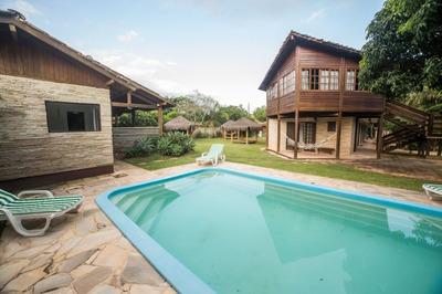 Casa Em Rio Tavares, Florianópolis/sc De 60m² 2 Quartos Para Locação R$ 500,00/dia - Ca104316