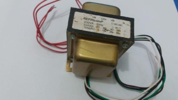 Transformador Vidros 220v 60hz 85v Refricomp Cod:5912