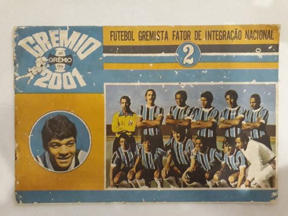 Revista Antiga Do Grêmio - Grêmio 2001 - Revista Muito Rara