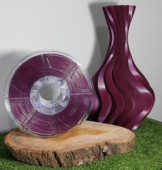 Filamento Pla 1,75mm Roxo/purple - Alto Teor De Pureza 1kg