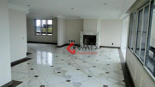 Imagem 1 de 30 de Cobertura Com 4 Dormitórios À Venda, 523 M² Por R$ 2.500.000,00 - Jardim Do Mar - São Bernardo Do Campo/sp - Co0083