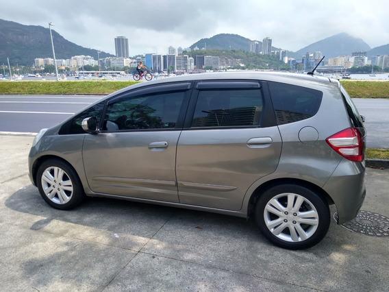 Honda Fit Exl 1.5 16v Automático Total Flex 4p 2010 Completo