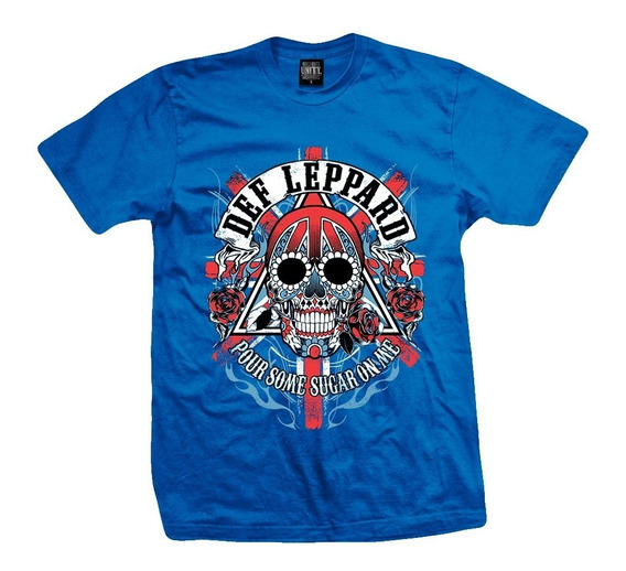 Remera Def Leppard Pour Some Sugar On Me