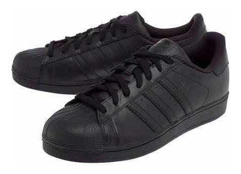 Tênis adidas Superstar Foundation Preto Unissex Original