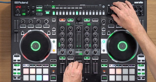 Roland Dj-808 4-deck Serato Dj Pro Controller