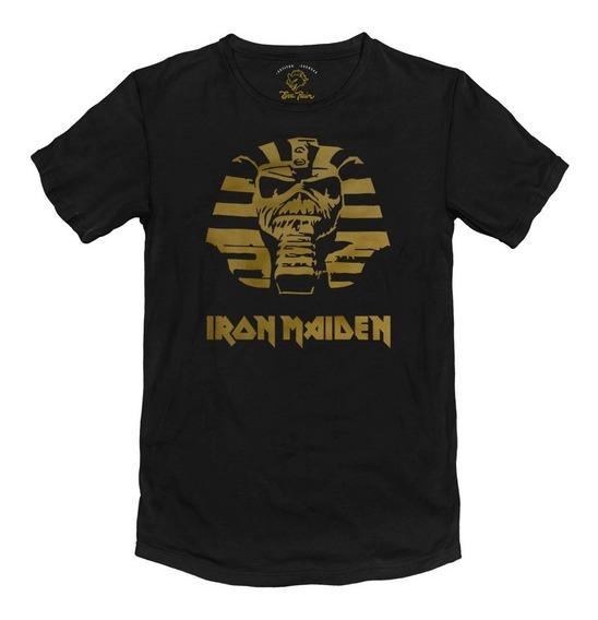 Remera Iron Maiden Metal Algodón Peinado 24/1 Premium