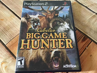 Cabelas Big Game Hunter Ps2