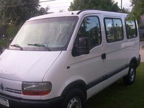 Renault Master 2.8 Diesel Año 2005 Rural 9 Pasa Impecable !!