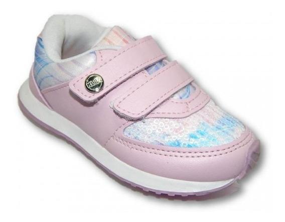 Tênis Klin Mini Walk Meninas 453055000 - Rosa/lilás