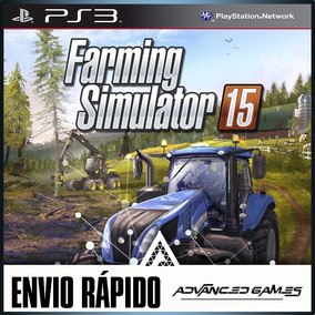 Farming Simulator 15 - Português - Jogos Ps3 Midia Digital