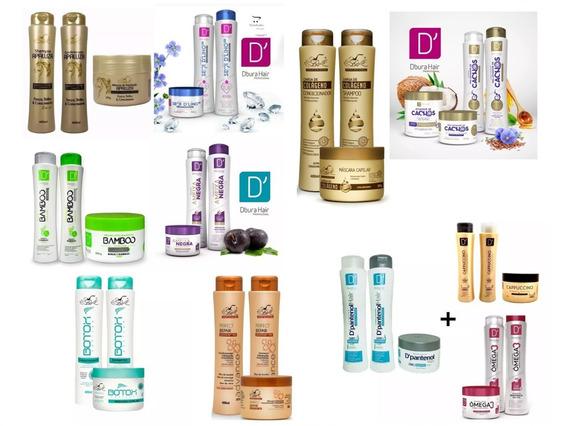 Shampoo + Condicionador + Mascara = 18 Produtos Kit Revenda