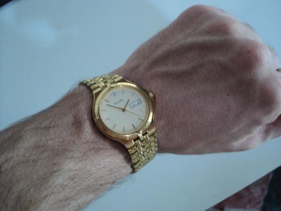Bulova, Relógio/bracelete, Ouro, Diamante, Clássico