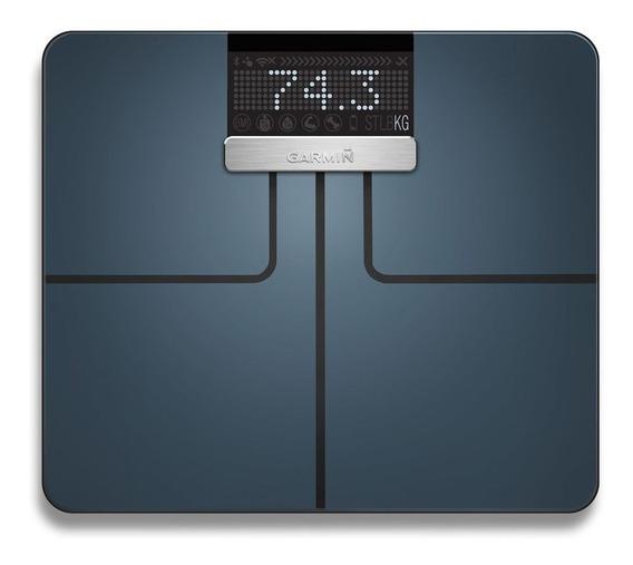Balança Smart Garmin Index Wifi Bluetooth E Ant+ Imc Preta