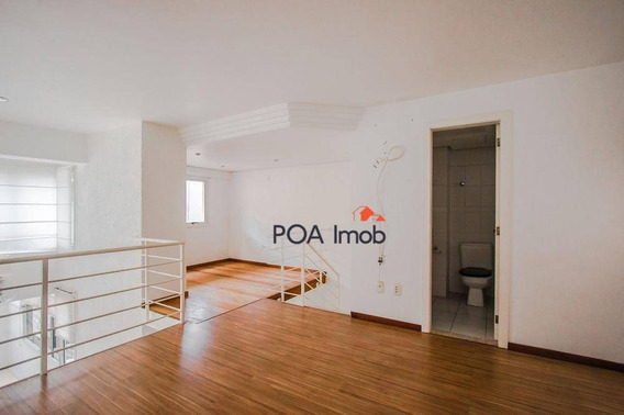 Loft Residencial À Venda, Rio Branco, Porto Alegre - Lf0057. - Lf0057