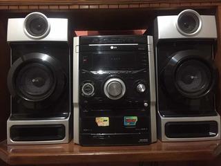 Stereo Lg 6 Bocinas 12000 Watts, Usb Y Aux