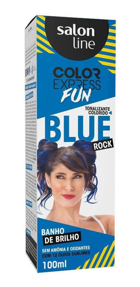 Tonalizante Color Express Fun Blue Rock Salon Line 100ml