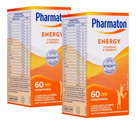 Kit C/2 Pharmaton Energy 60 Cápsulas