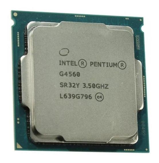 Processador gamer Intel Pentium G4560 BX80677G4560 de 2 núcleos e 3.5GHz de frequência com gráfica integrada