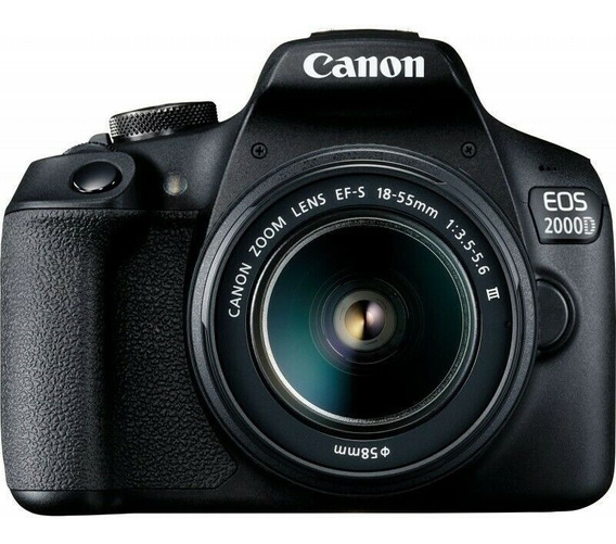 Canon Eos 2000d / Rebel T7 24.1mp With Ef-s 18-55mm Iii Lens