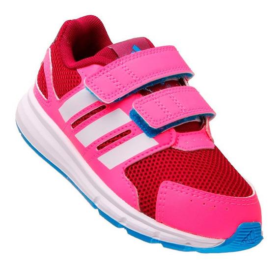 Tenis Feminino Esporte Infantil adidas Running Rosa Menina