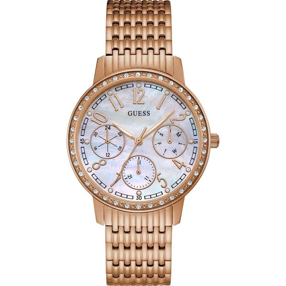 Relógio Feminino Guess Ip Rose Multifunção 92693lpgdra2